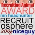 MN Headhunter Paul DeBettignies Recruiter Nice Guy Award