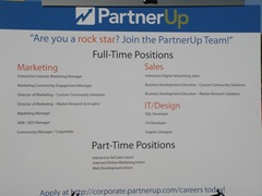 6 SMBMSP # 16 6-26-09 PartnerUp Is Hiring