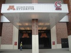 09-7-30 TCF Bank Stadium University of Minnesota Student Entrance 3