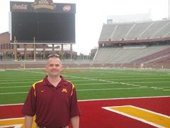 09-7-30 TCF Bank Stadium University of Minnesota Paul DeBettignies