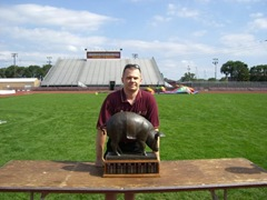 Floyd of Rosedale, Minnesota Gopher Football Fanfest 2007