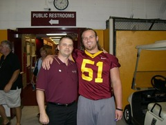 Eric Small, Minnesota Gopher Football Fanfest 2007