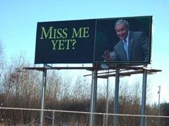 Miss Me Yet George Bush