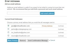LinkedIn Email Address