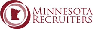 Minnesota Recruiters logo on white