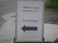 10-7-30 Minnesota Recruiters Conference 11 001 Follow the signs to General Mills