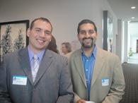 10-7-30 Minnesota Recruiters Conference 11 007 Adam Sprecher and Rajat Relan