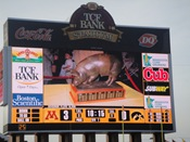 Scoreboard: 11-27-10 Minnesota Golden Gophers vs Iowa Hawkeyes Floyd of Rosedale