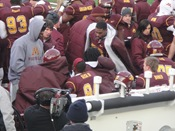 MarQueis Gray: 11-27-10 Minnesota Golden Gophers vs Iowa Hawkeyes Floyd of Rosedale