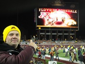 Celebration: 11-27-10 Minnesota Golden Gophers vs Iowa Hawkeyes Floyd of Rosedale