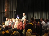 Minnesota Golden Gophers Head Coach Jerry Kill