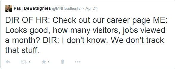 Director of HR Tweet