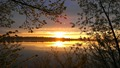 Lake Agnes, Minnesota Sunset