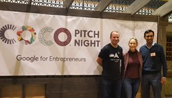 CoCo Pitch Night, Google Pitch Day, Anna Mason, Rob Weber, Mynul Khan, Minnesota Tech Scene