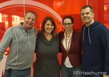 Casey Allen, Jenna Pederson, Kathy Grayson, Paul DeBettignies