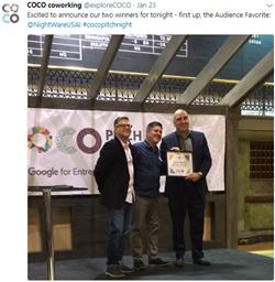 NightWare,, CoCo Pitch Night, Google Demo Day, Minnesota Technology