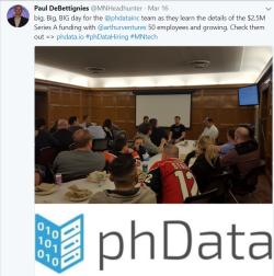 PhData Funding Announcement