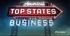 CNBC America's Top States For Doing Business