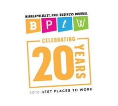MSP Business Journal Best Places To Work 2018