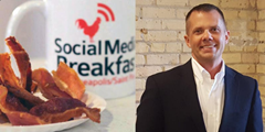 Paul DeBettignies at Social Media Breakfast Minneapolis St Paul