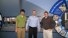Cory and Kyle, Student Volunteers 3