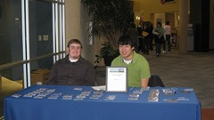Cory and Kyle, Student Volunteers